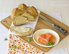 Olivas en la cocina: Pan de Soda Irlandés - Irish Soda Bread Cupcakes, Pan Bread, Bread Recipes, Dairy, Cheese, Food, Types Of Pizza, Bread Types, Different Types Of