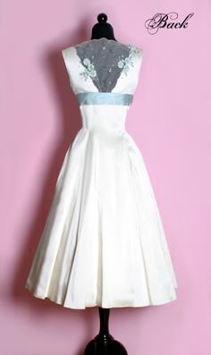 How hard would it be to make this dress out of a vintage bridal satin dress we found?