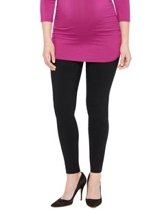 The wear-to-work pant | Secret fit belly tech twill skinny leg maternity pants by Motherhood Maternity