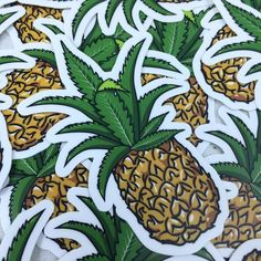 Pineapple Express Stickers
