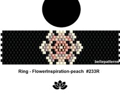 Image result for peyote stitch rings