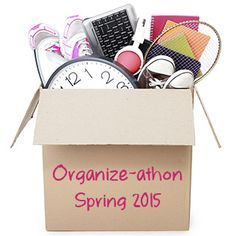 simplify 101's Organize-athon starts this weekend! Click to join the fun.