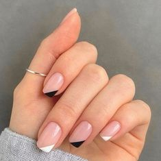 Chic Nails, Stylish Nails, Trendy Nails, Swag Nails, Casual Nails, Sophisticated Nails, Chic Nail Art, Nagellack Design, Nagellack Trends