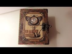 Vintage Mini Album Tutorial - YouTube