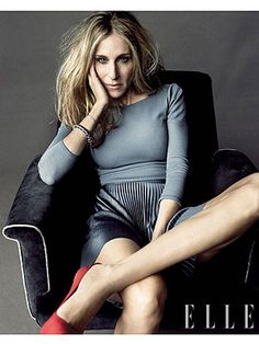 Sarah Jessica Parker. I love you. Your clothes. and the fact that we share the same birthday