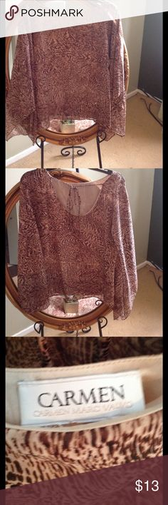 Macy S Pretty Beaded Dressy Blouse