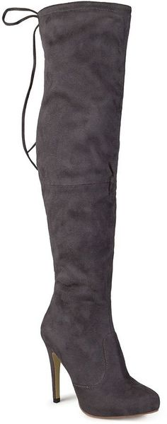 $122.95 Shop for Plus Size Thigh High Boots at Sincity Playwear ...