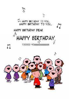 Snoopy Happy Birthday