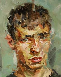 Head of a Young Man by Paul Wright