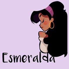 Hoy en día un atrajo #esmeralda durante el almuerzo.  #girlsinanimation #Disney #drawing #doodle #hunchbackofnotredame