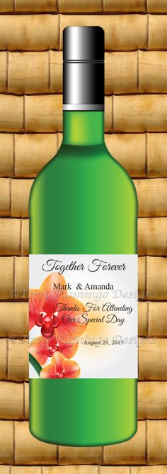 make your own wedding wine labels for the big day with these 6 free templates in illustrator. Black Bedroom Furniture Sets. Home Design Ideas