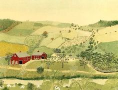 Do you still remember Grandma Moses (1860-1961)? Let's enjoy her nice drawings & paintings! Such a lovely lady in our life! @newrayimage #forestlecosa #arts #artist #painting #drawing #grandmamoses #natureart #natureartist