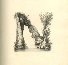 A 19th Century Lithographer Transforms the Alphabet into a Series of Sweeping Landscapes