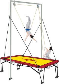 Trampoline Spotting Rig - G-244 - Gymnastics Spotting Rigs
