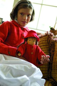 Girl and doll sweater pattern