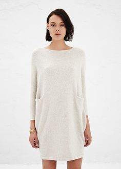 ❤️this lauren manoogian chalk trapezoid dress. Fasion, Fashion Outfits, Womens Fashion, Mode Blog, Minimal Fashion, Dress Me Up, Well Dressed, Her Style, Beautiful Outfits