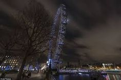 Image result for the view of the London Eye from North Bank