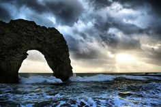 Photographer: Linda Cronin  Love the mood of this shot...it looks like the arch at Los Cabos !