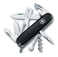 Victorinox Pocket Pal Multi-Tool-Black The Victorinox Climber Swiss Army Knife features ten popular tools This knife is ideal for any climber