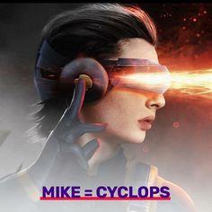 Mike as cyclops #strangerthings X-Men mashup #strangerthings2 #strangerthingsmemes #strangerthingsedit #eleven #elevencosplay #elevenstrangerthings #hawkins #hawkinsindiana #netflix
