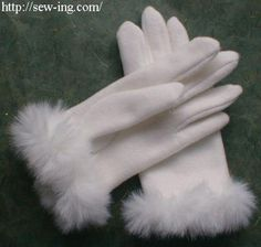 5 Ways to Make Gloves - Free Patterns and Tutorials: Simple Gloves Pattern