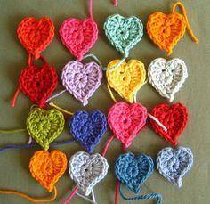 crummyknee:  daintyloops:  (via Inspiration / Attic24: Crochet)  I love hearts