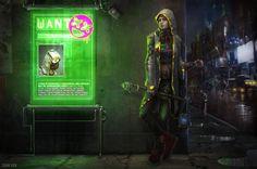 Cyberpunk artworks gallery