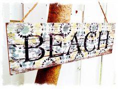 zum Strand gehts hier lang!!! ;) ...auf www.dekomagie.de