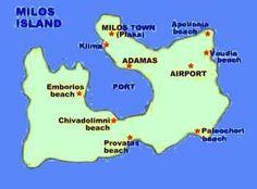 Map milos