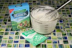 Ranch Dressing. My cheater recipe to make this mix Low Carb. Soon to be your favorite dressing.
