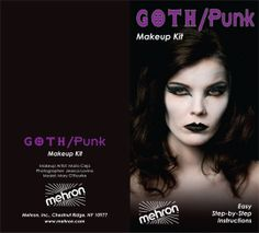 Mehron is a New York basaed make-up company that focuses on #Goth to get it's message across
