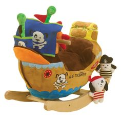 Rockaby Rockers for toddlers/babies. Perfect present for my little cousin Liam's 1st birthday party, which is pirate themed.