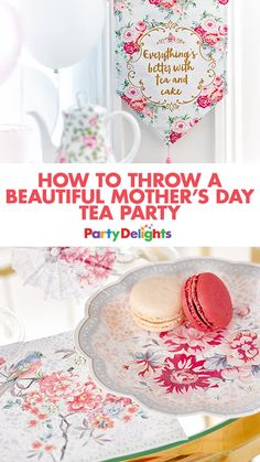 Looking for a nice way to treat your mum on Mother's Day 2017? Look no further than our Mother's Day tea party ideas! Our afternoon tea ideas will tell you everything you need to know to throw a lovely Mother's Day afternoon tea. And for even more Mother's Day ideas, stay on the Party Delights blog.