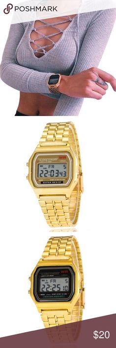 """Retro Watch available shortly • """"like"""" to be notified • new, boutique item • 🎀💕🛍 sabineforever.com for style, beauty and lifestyle inspo Accessories Watches"""