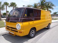 1969 Dodge Flying Brick Van