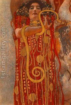 Gustav Klimt:Medicine (Hygieia)