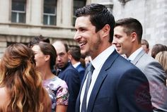 Sidney Crosby at Kris Letang and Catherine Laflamme's wedding