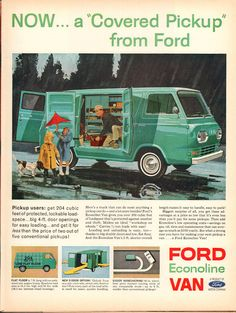 1963 Ford Econoline Van Advertisement Life Magazine December 211962 (by SenseiAlan)