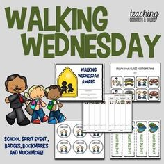 Want to encourage walking in your school? Does your eco-team need an activity to promote activities which children can easily do to help save the Earth! Earn points for your class if you desire to run this weekly, monthly or as a part of your school spirit events!