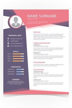 Your resume is one of your best marketing tools. The goal of your resume is to tell your individual story in a compelling way that drives prospective employers to want to meet you. Graphic Design Resume, Cv Design, Resume Design Template, Cv Template, Resume Templates, Portfolio Resume, Portfolio Design, Cv Inspiration, You Better Work