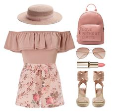 """""""Road Trip"""" by the-messiah ❤ liked on Polyvore featuring Eloquii, Miss Selfridge, Splendid, H&M and Maison Michel"""