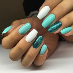 Gel nails are remarkable. If you want remarkable nails, here are some gel nails to get you inspired! Nail Manicure, Diy Nails, Cute Nails, Xmas Nails, Summer Acrylic Nails, Best Acrylic Nails, Stylish Nails, Trendy Nails, Mountain Peak Nails