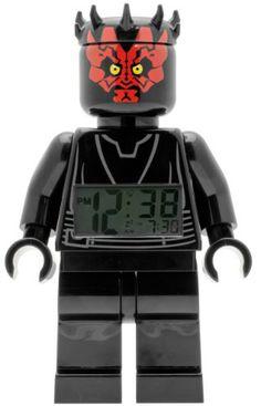 LEGO Star Wars Wecker - Darth Maul  http://www.meinspielzeug24.de/lego-star-wars-wecker-darth-maul  #Junge, #LEGOStarWars #Uhren/Wecker