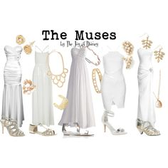 """""""The Muses (Hercules)"""" by thejoyofdisney on Polyvore"""
