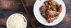 When you take your first bite of Easy Sesame Chicken, you'll make a vow to NEVER order Chinese takeout again. It's impossible for any restaurant to top this recipe — and that's not even the best part! Easy Sesame Chicken, Gluten Free Chicken, Rice Vinegar, Low Carb Diet, Fresh Ginger, Healthy Cooking, Low Carb Recipes, Main Dishes, Food And Drink