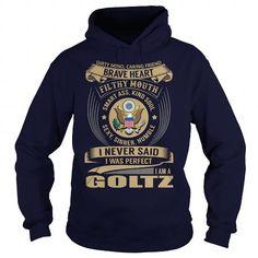 Awesome Tee GOLTZ Last Name, Surname Tshirt T shirts
