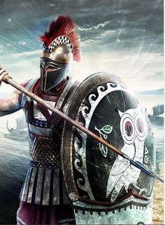 Athenian Hoplite by Norberto de Buenos Aires