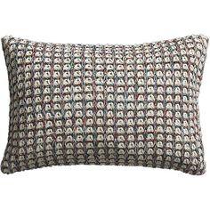 "loop knit 18""x12"" pillow"