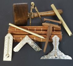 Masonic Supply Shop - Working Tool Set Emulation, $590.00 (http://www.masonicsupplyshop.com/working-tool-set-emulation/)