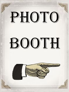 DIY Photo Booth - photo booth